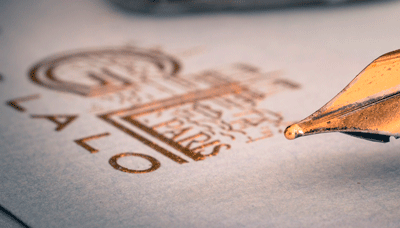 detalles del papel metalizado