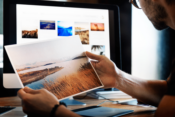 Diferencia del color impreso y en pantalla