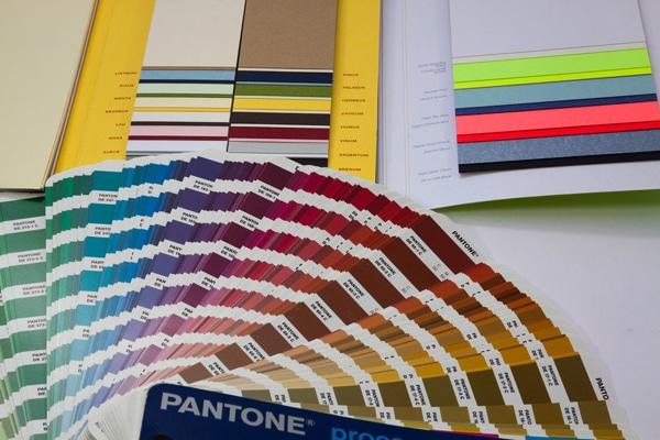 Carta de color Pantone