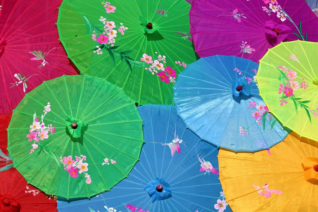 Significado colores oriental
