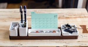 Calendario original para mesa