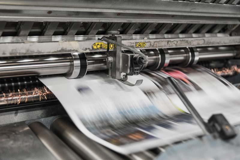 Los orígenes de la impresora