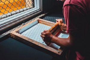 Serigrafía o impresión permeográfica