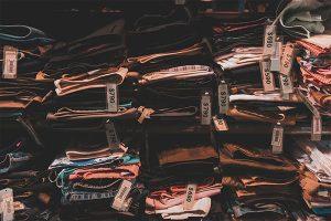 etiqueta para ropa