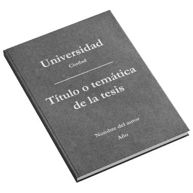impresión tesis doctoral zaragoza